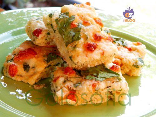 Focaccia mozzarella e prezzemolo, ricetta veloce senza lievitazione
