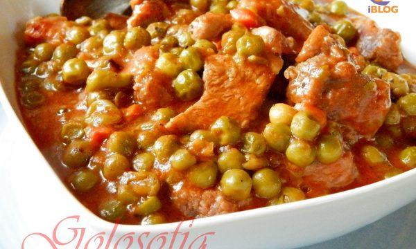 Spezzatino con i piselli, ricetta tradizionale