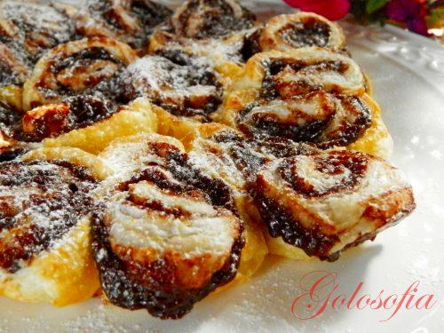Torta delle rose nutella e marmellata, ricetta semplicissima!