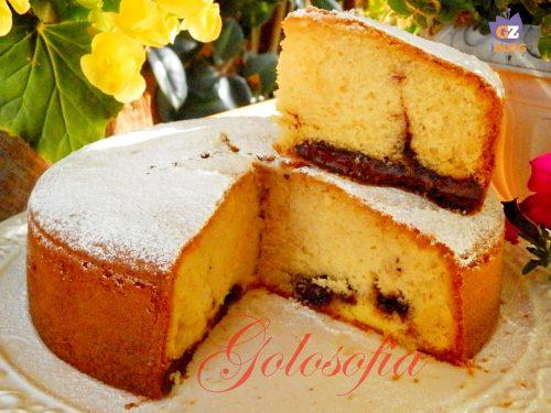 Torta Nua 2 con crema e nutella, ricetta golosissima!
