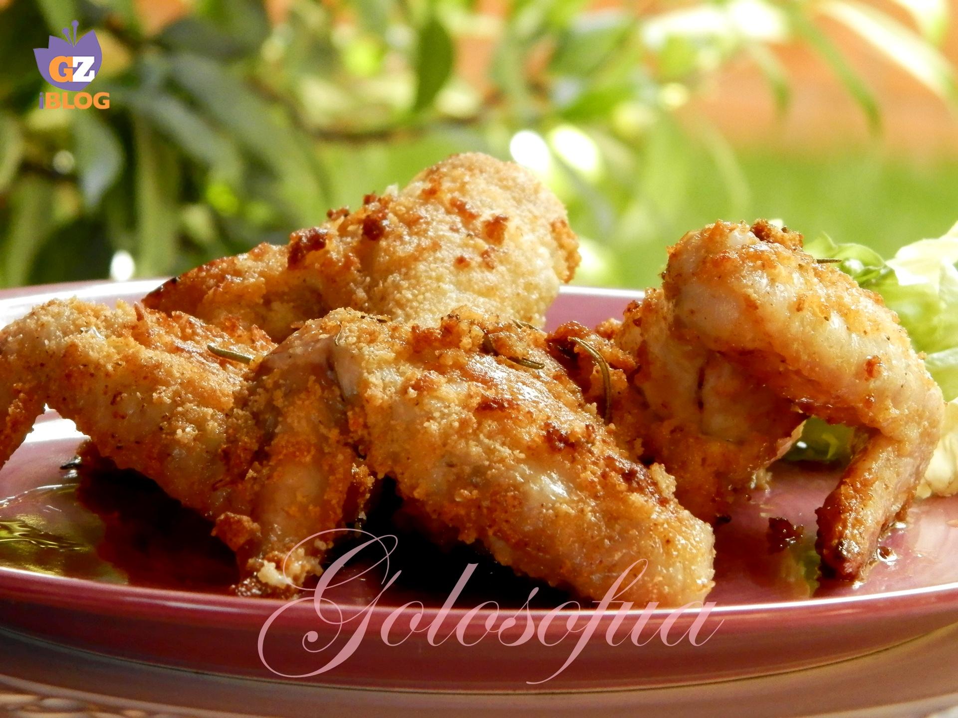 Ali Di Pollo Impanate Ricetta Al Forno