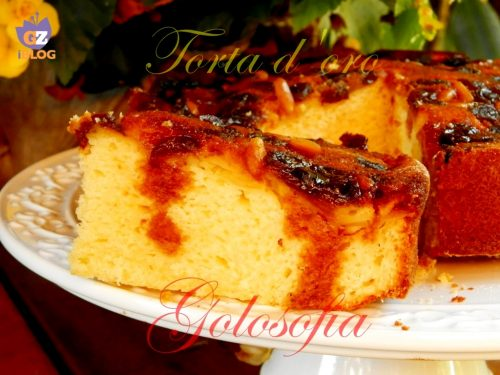 Torta d'oro, ricetta dolci ricca
