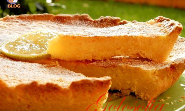Crostata con crema al limone, ricetta semplice