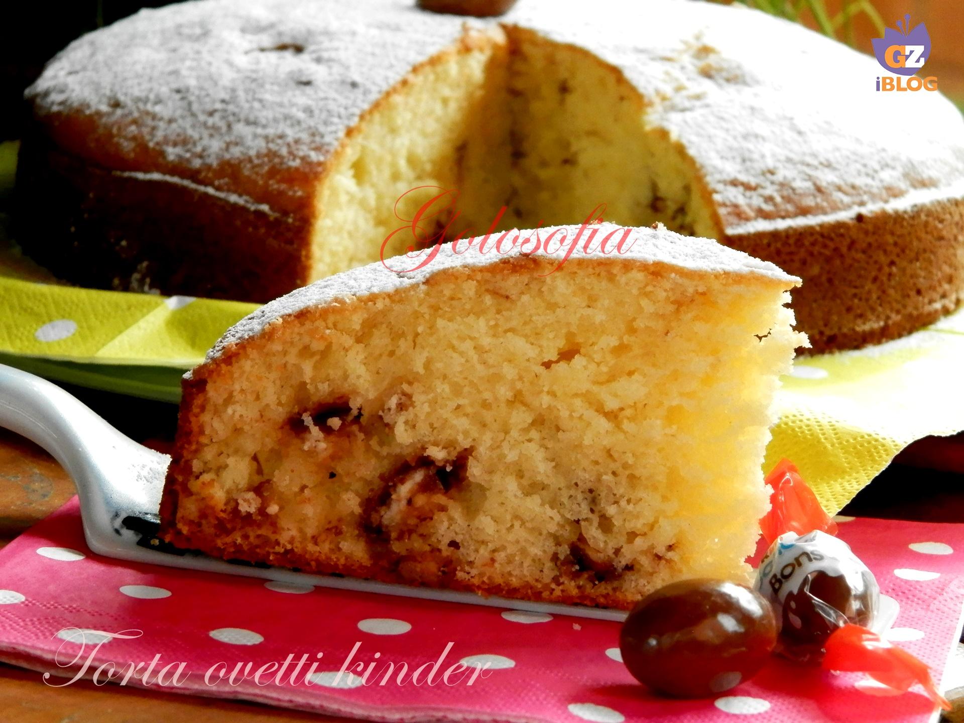 Ricetta torta ovetto kinder