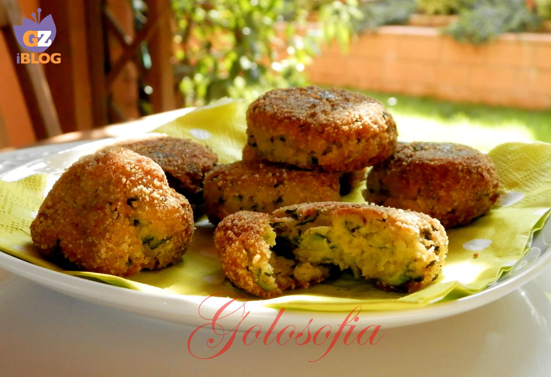 Polpette di zucchine-ricetta secondi-golosofia