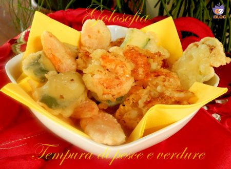 Tempura di pesce e verdure, ricetta secondi