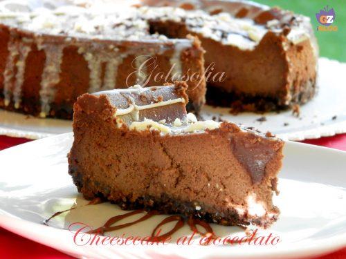 Cheesecake al cioccolato, ricetta golosa