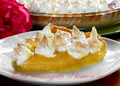 Torta meringata al lemon curd, ricetta francese