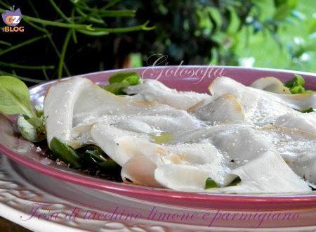 Fesa di tacchino con limone e parmigiano, ricetta veloce