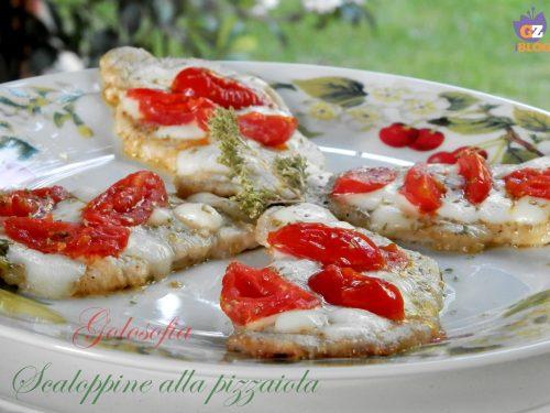 Scaloppine alla pizzaiola, ricetta gustosa veloce