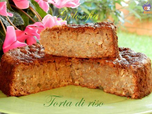 Torta di riso, ricetta tradizionale emiliana