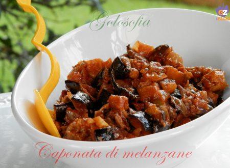 Caponata di melanzane, ricetta leggera