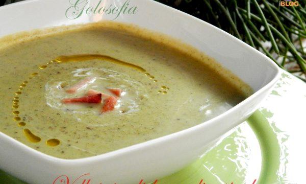 Vellutata di broccoli e speck, ricetta primi