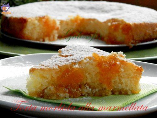 Torta morbida alla marmellata di albicocche, ricetta sofficissima