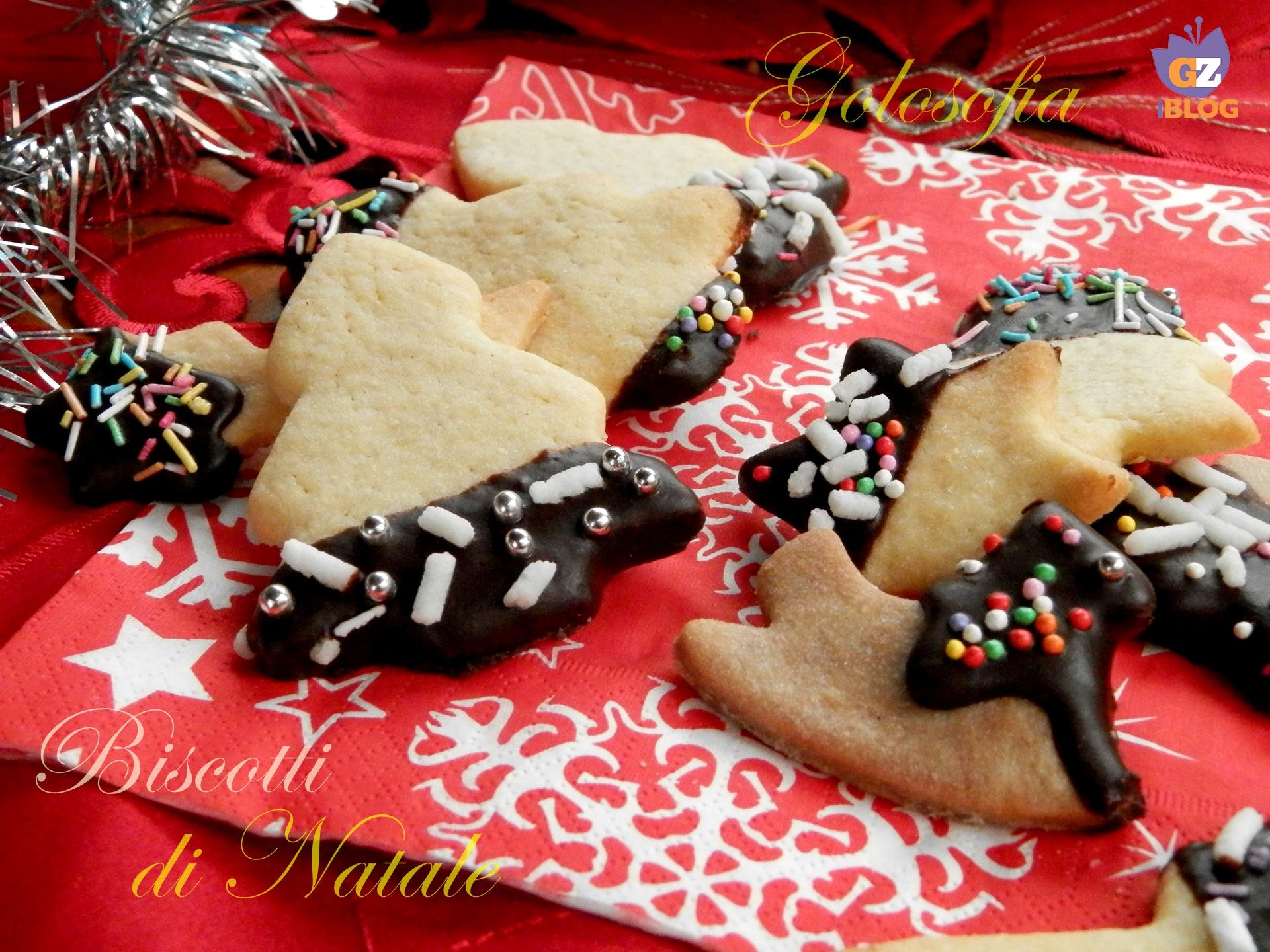 Ricette Dolci Di Natale Al Cioccolato.Biscotti Di Natale Glassati Al Cioccolato Ricetta Dolci