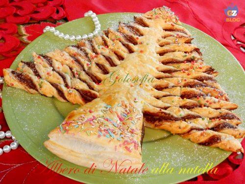 Albero di Natale alla nutella, ricetta veloce per le feste!