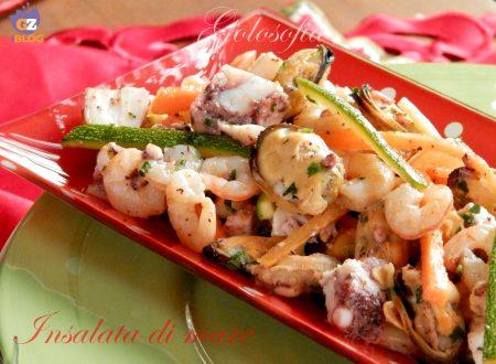 Insalata di mare, ricetta antipasti