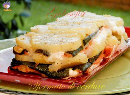 Sformato di verdure e formaggio, ricetta filante