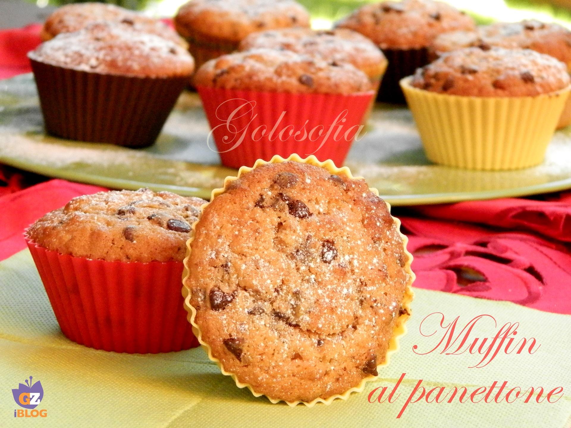 Muffin al panettone, ricetta golosa riciclo