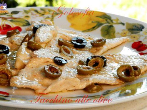 Tacchino alle olive, ricetta gustosa e veloce