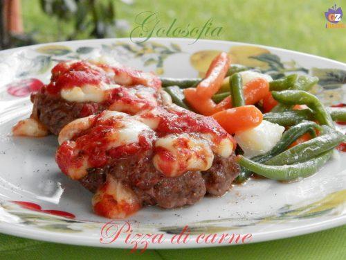 Pizza di carne, ricetta gustosa