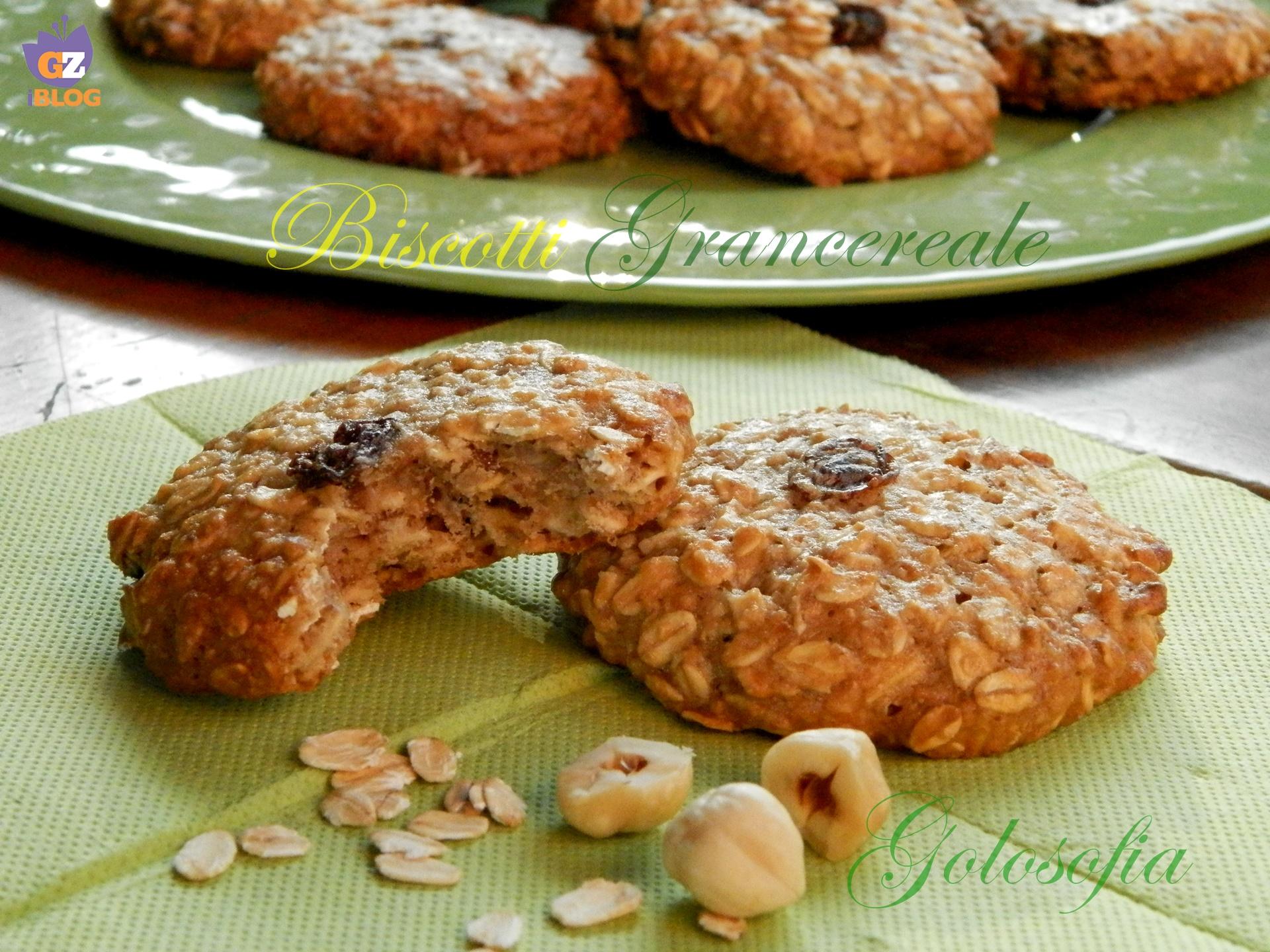 Biscotti Grancereale fatti in casa-ricetta buonissima!