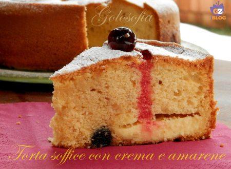 Torta soffice con crema e amarene, ricetta fantastica!