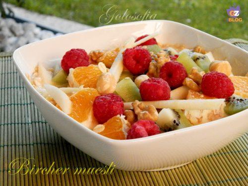 Bircher muesli, ricetta svizzera buonissima!