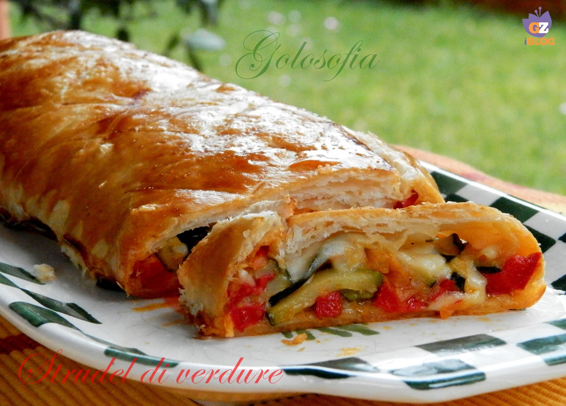 Strudel di verdure e formaggio, ricetta gustosissima