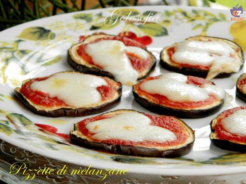 Pizzette di melanzane, ricetta veloce