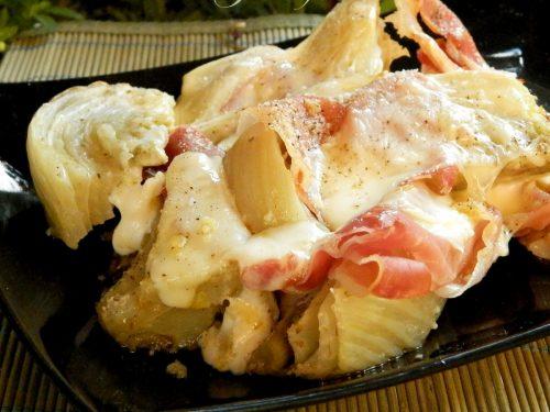 Sformato di finocchi, prosciutto e mozzarella, ricetta saporita