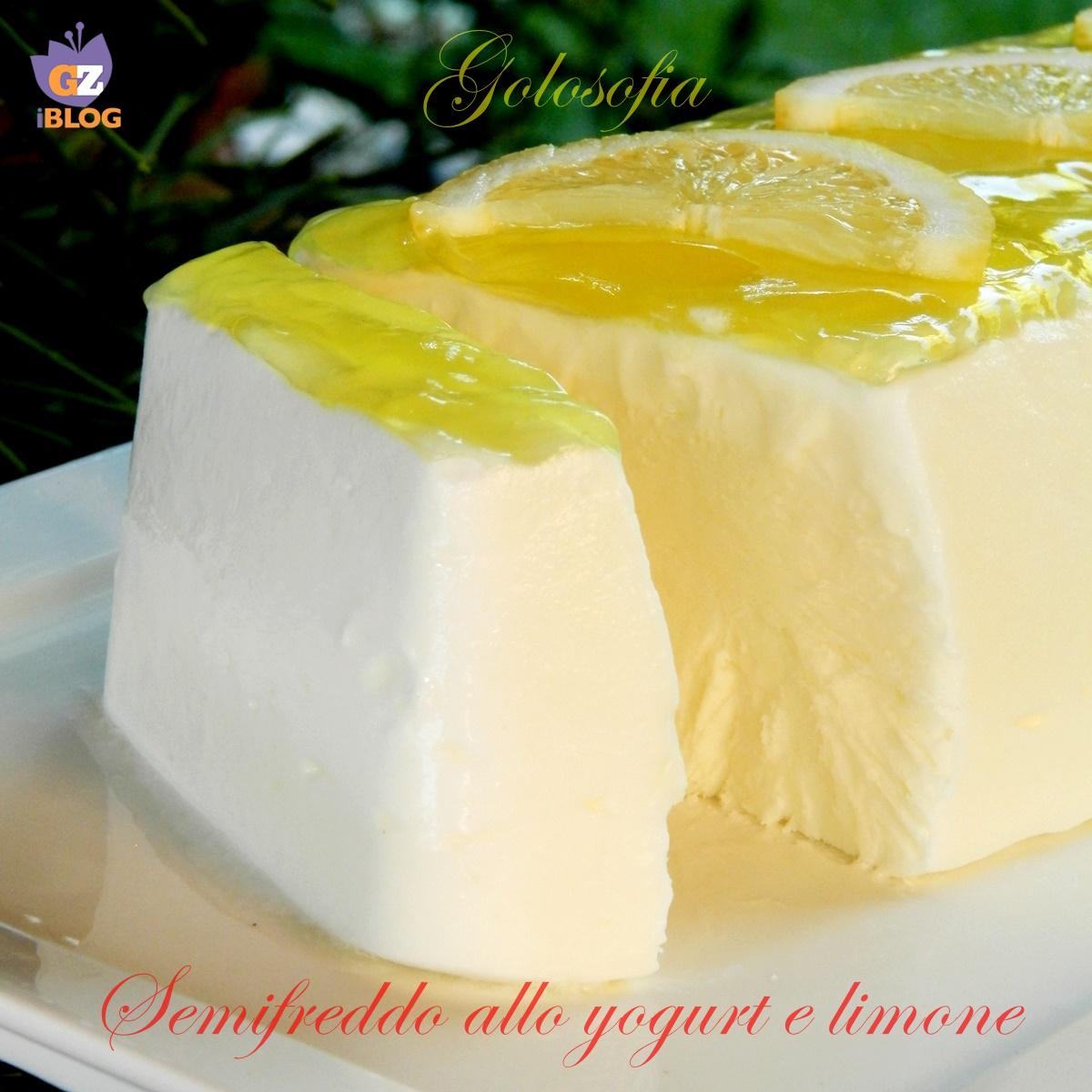 Semifreddo allo yogurt e limone, ricetta estiva