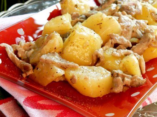 Roastbeef e patate in padella, ricetta squisita