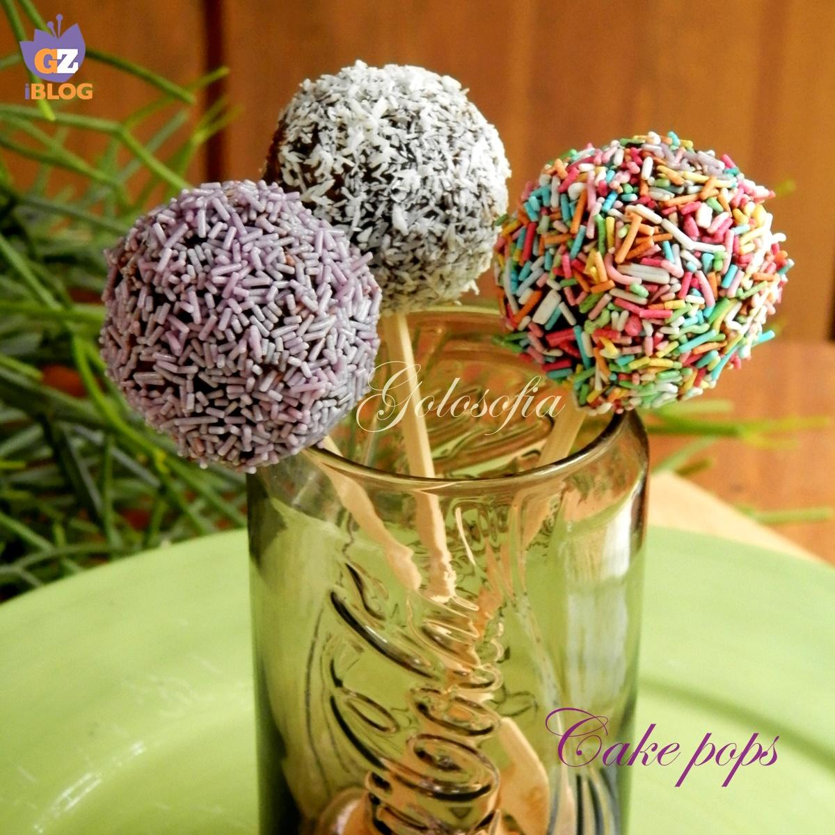 Cake pops-ricetta dolci-golosofia