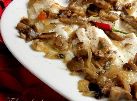 Filetti di platessa ai funghi, ricetta deliziosa