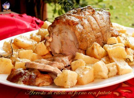 Arrosto di vitello al forno con patate, ricetta tradizionale