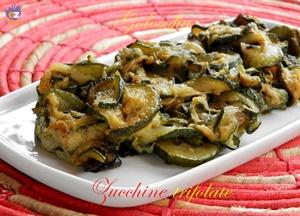 Zucchine trifolate-ricetta contorni-golosofia