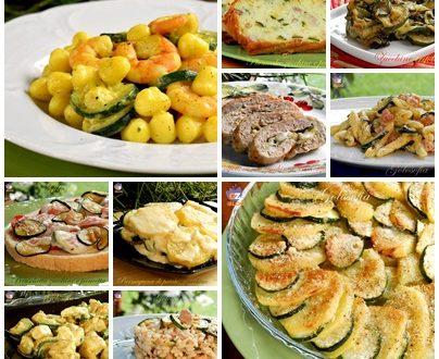 Raccolta di ricette con le zucchine, semplici e golose!