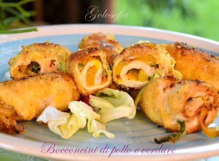 Bocconcini di pollo e verdure, ricetta gustosissima