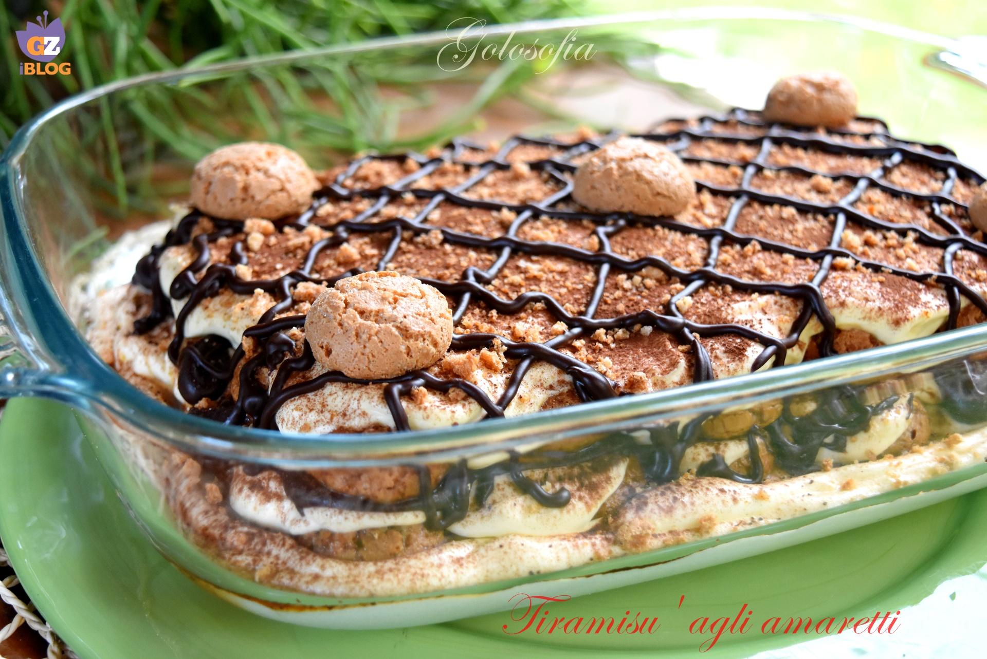 Amaretti Tiramisu Recipe — Dishmaps