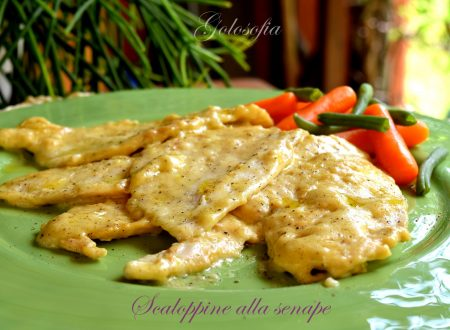 Scaloppine alla senape, ricetta buonissima e veloce