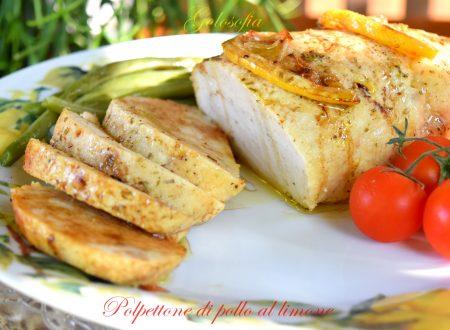 Polpettone di pollo al limone, ricetta buonissima leggera
