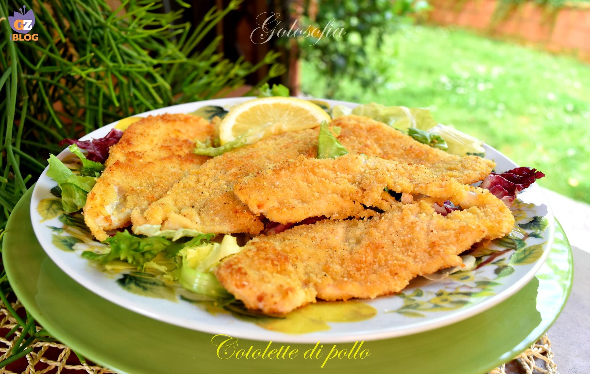 Cotolette di pollo, ricetta gustosa veloce
