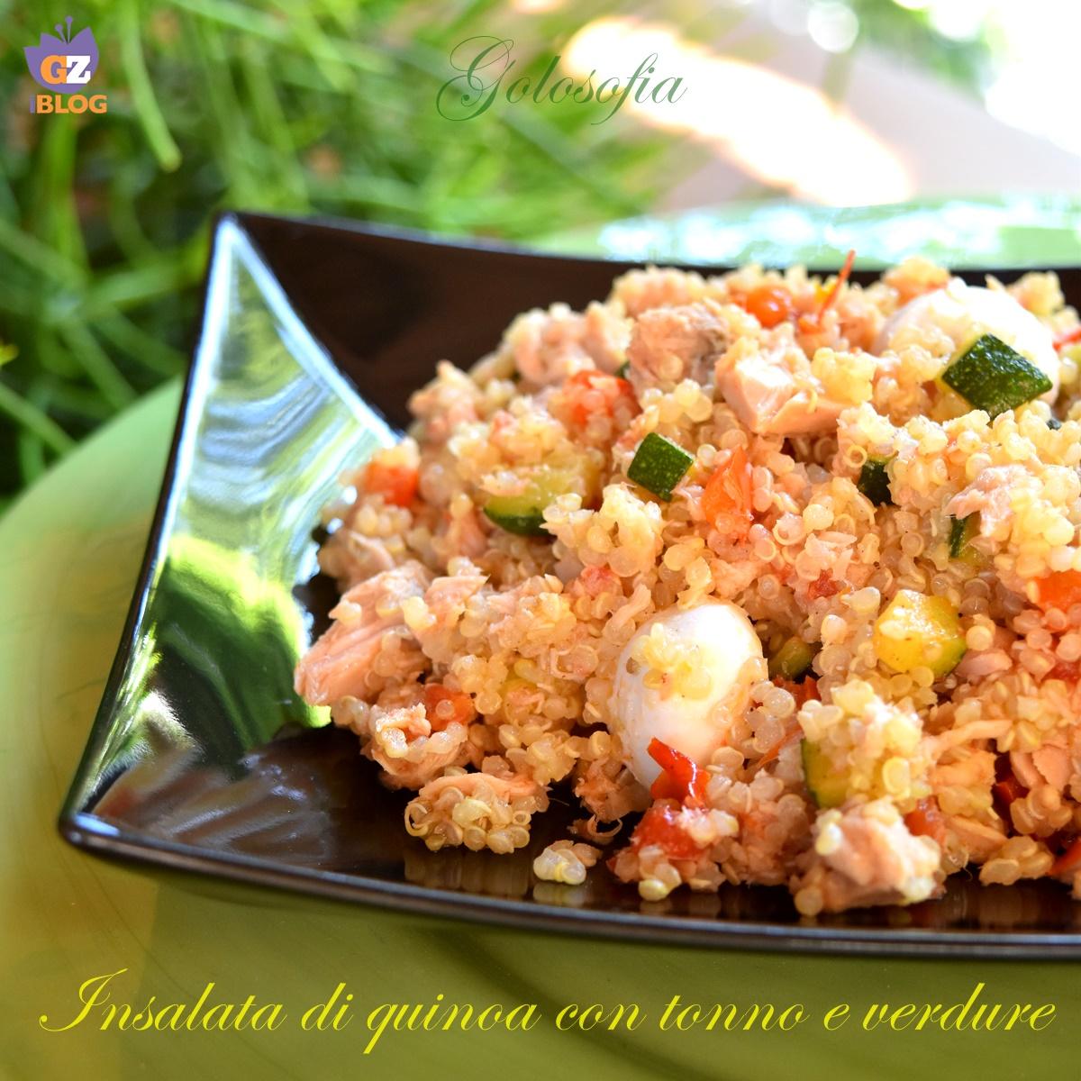Ricetta Quinoa Con Tonno E Verdure.Insalata Di Quinoa Con Tonno E Verdure Ricetta Buonissima