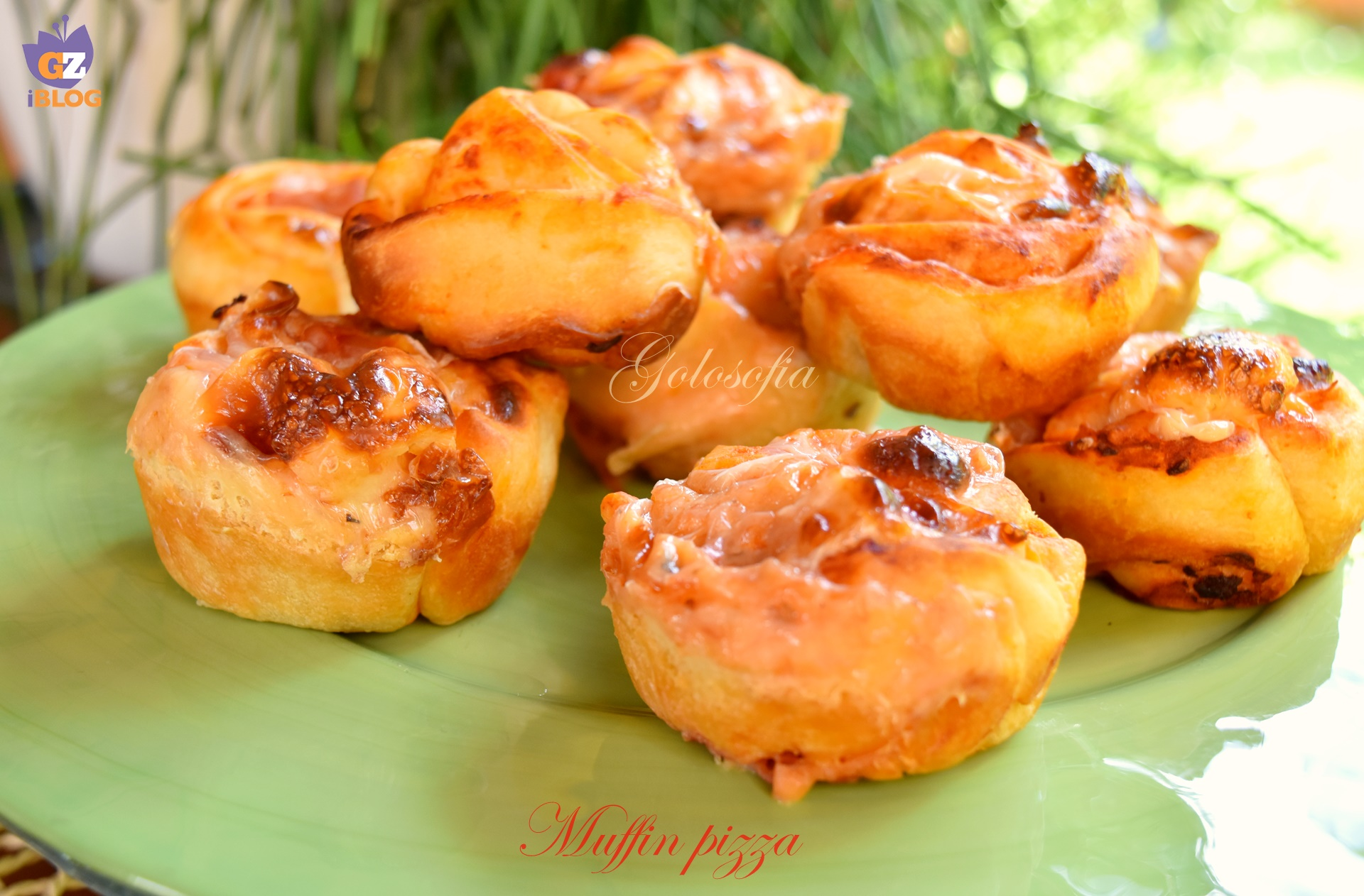 muffin pizza-ricetta antipasti-golosofia