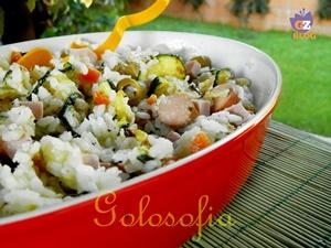 Insalata di riso ricca-ricetta estiva-golosofia