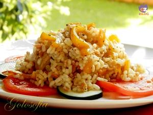insalata ai cereali con tonno e peperoni-ricetta estiva-golosofia