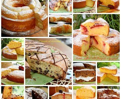 Raccolta di torte soffici per la prima colazione, tutte buonissime!