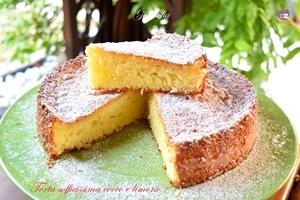 Torta sofficissima cocco e limone-ricetta torte-golosofia