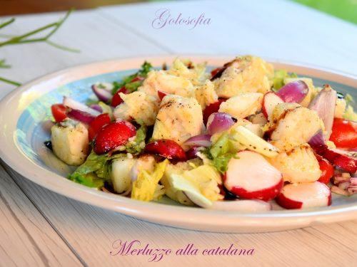 Merluzzo alla catalana, ricetta leggera e gustosissima